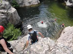 Canyoning en Caving 1-amfibie-treks-vancanze-sardinie